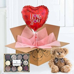 I Love You Balloon Gift Set 2499 Free UK Delivery